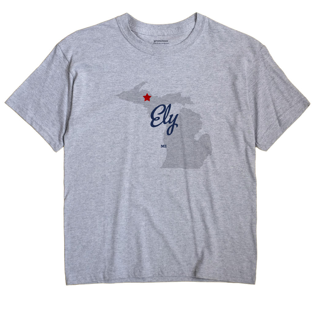 Ely, Michigan MI Souvenir Shirt