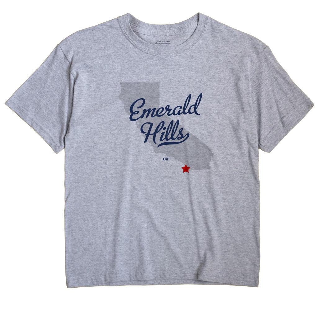 Emerald Hills, California CA Souvenir Shirt