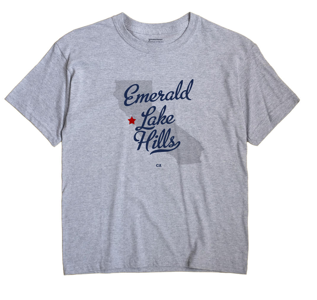Emerald Lake Hills, California CA Souvenir Shirt