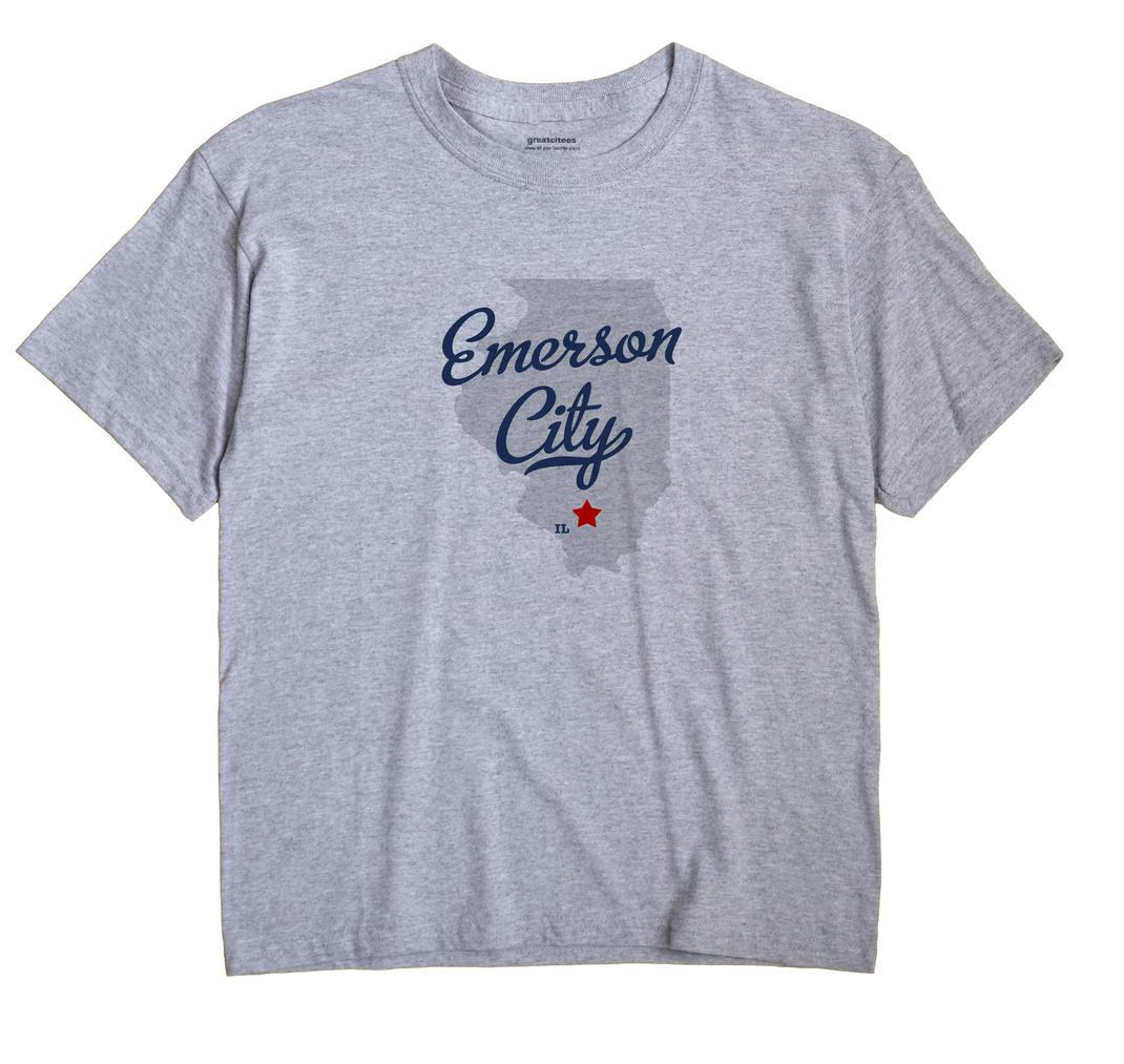 Emerson City, Illinois IL Souvenir Shirt