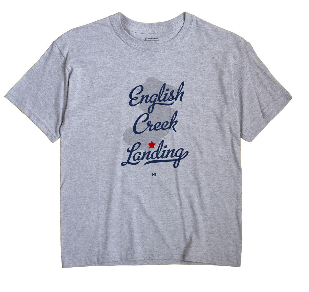 English Creek Landing, New Jersey NJ Souvenir Shirt