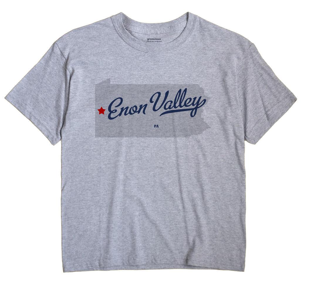 Enon Valley, Pennsylvania PA Souvenir Shirt