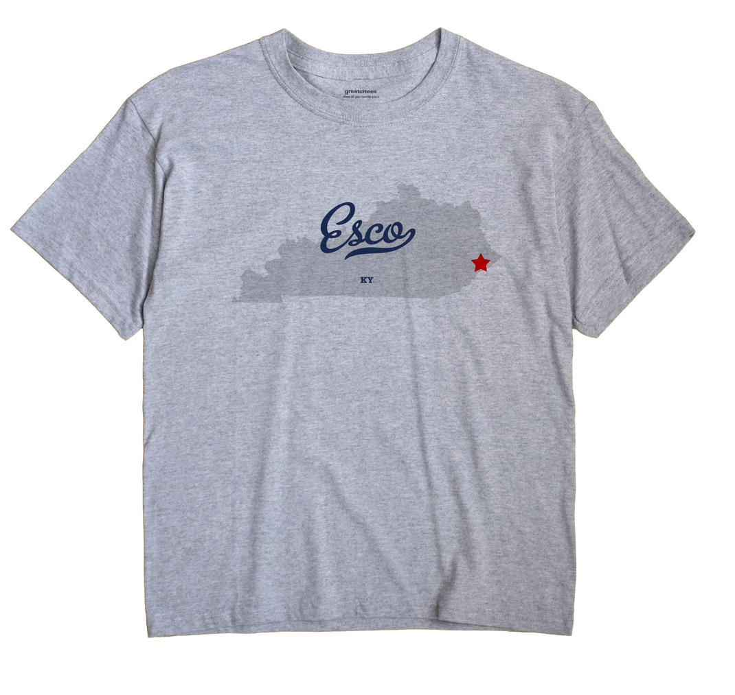 Esco, Kentucky KY Souvenir Shirt