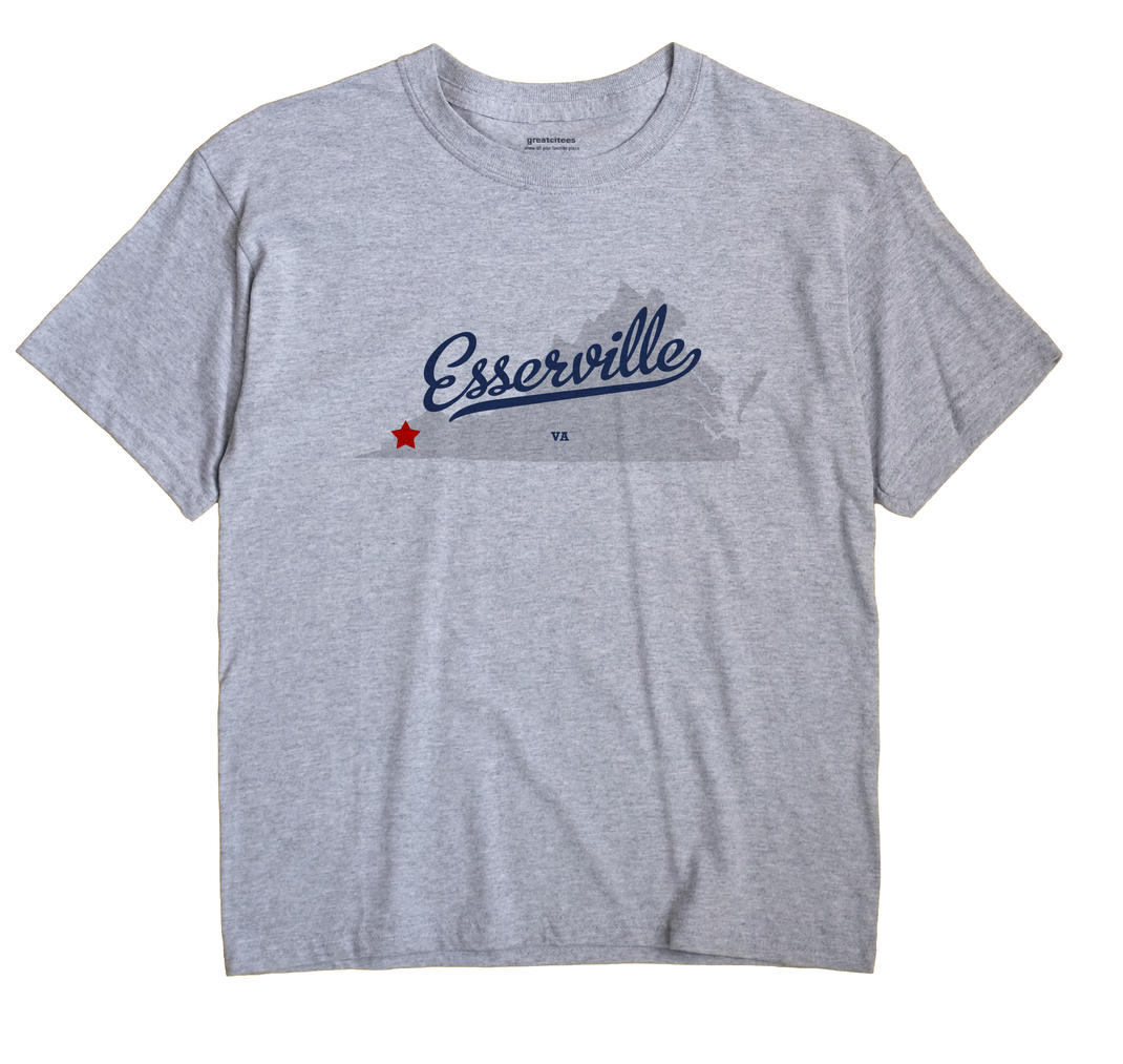 Esserville, Virginia VA Souvenir Shirt