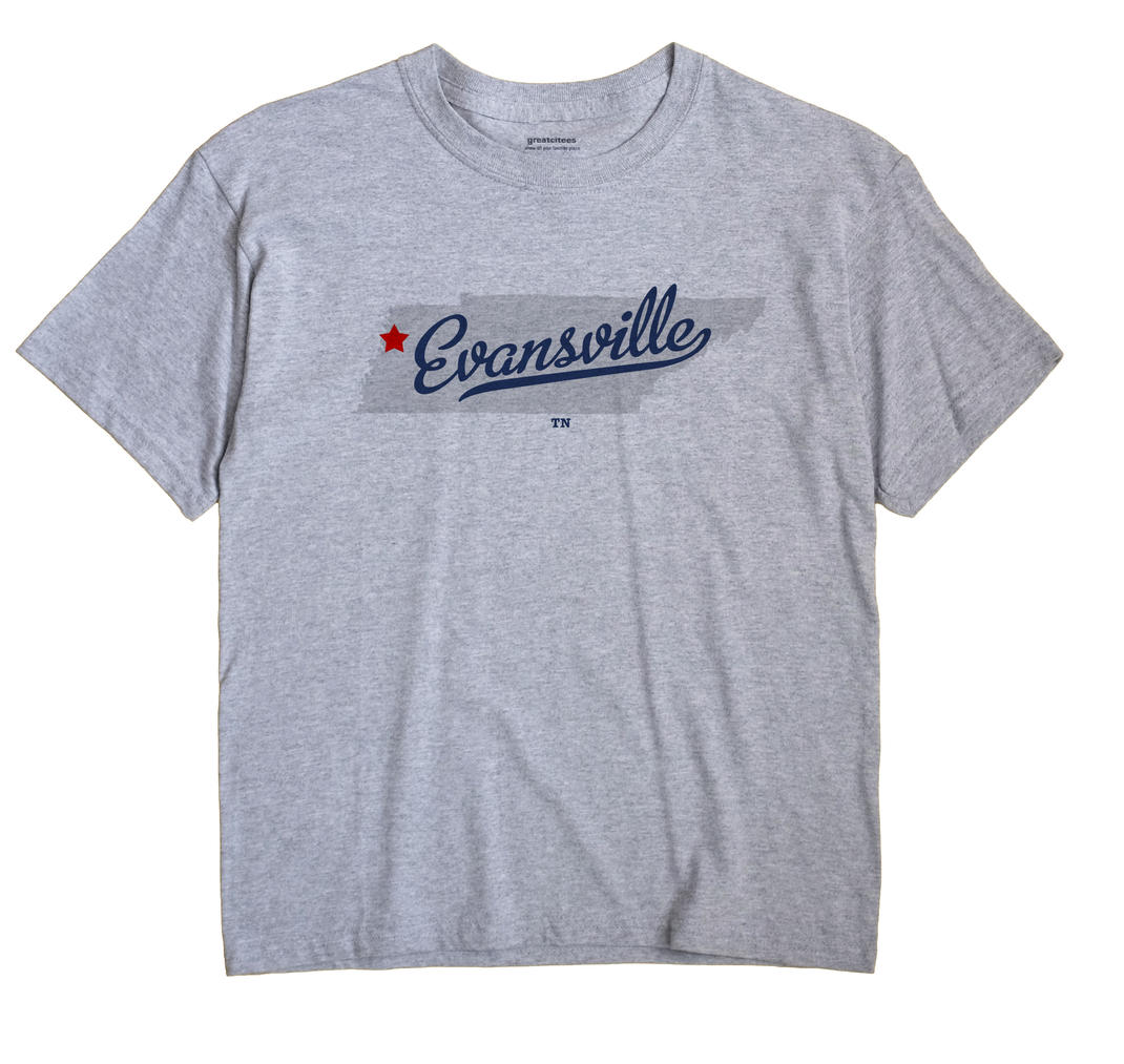 Evansville, Tennessee TN Souvenir Shirt