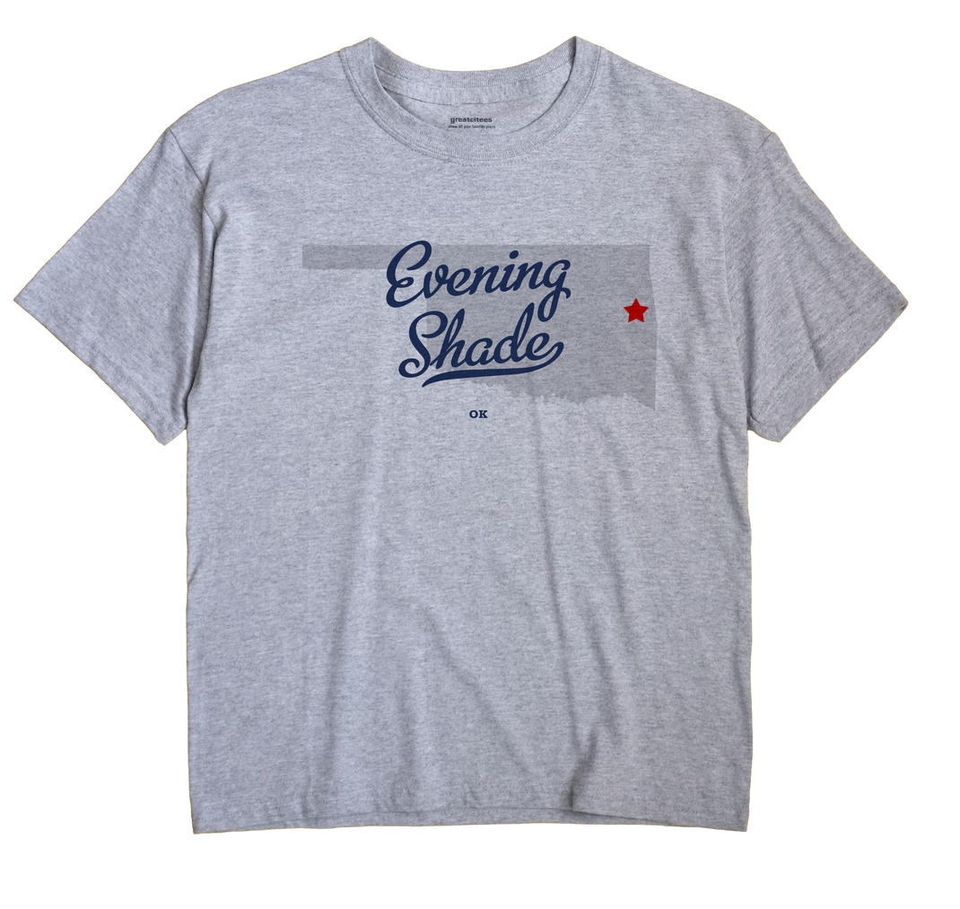 Evening Shade, Oklahoma OK Souvenir Shirt
