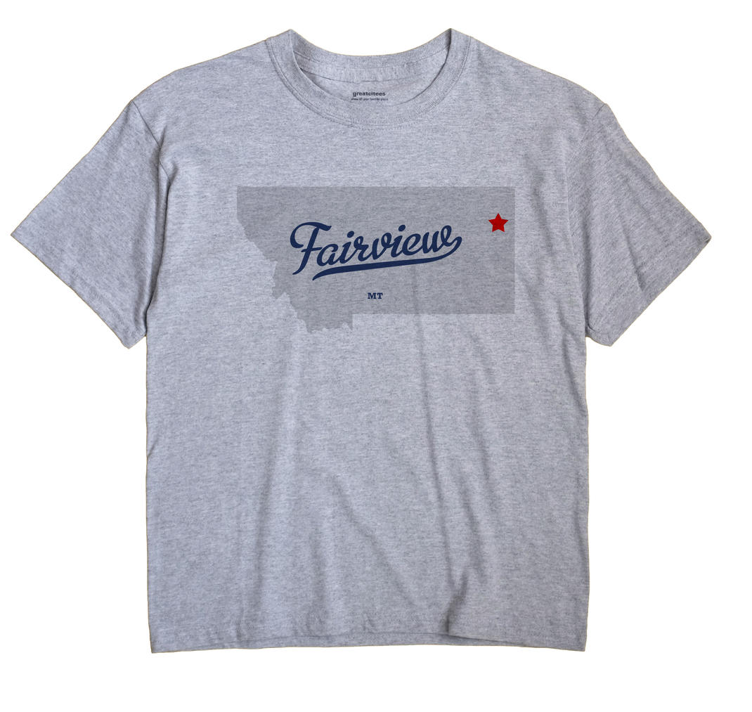 Fairview, Montana MT Souvenir Shirt