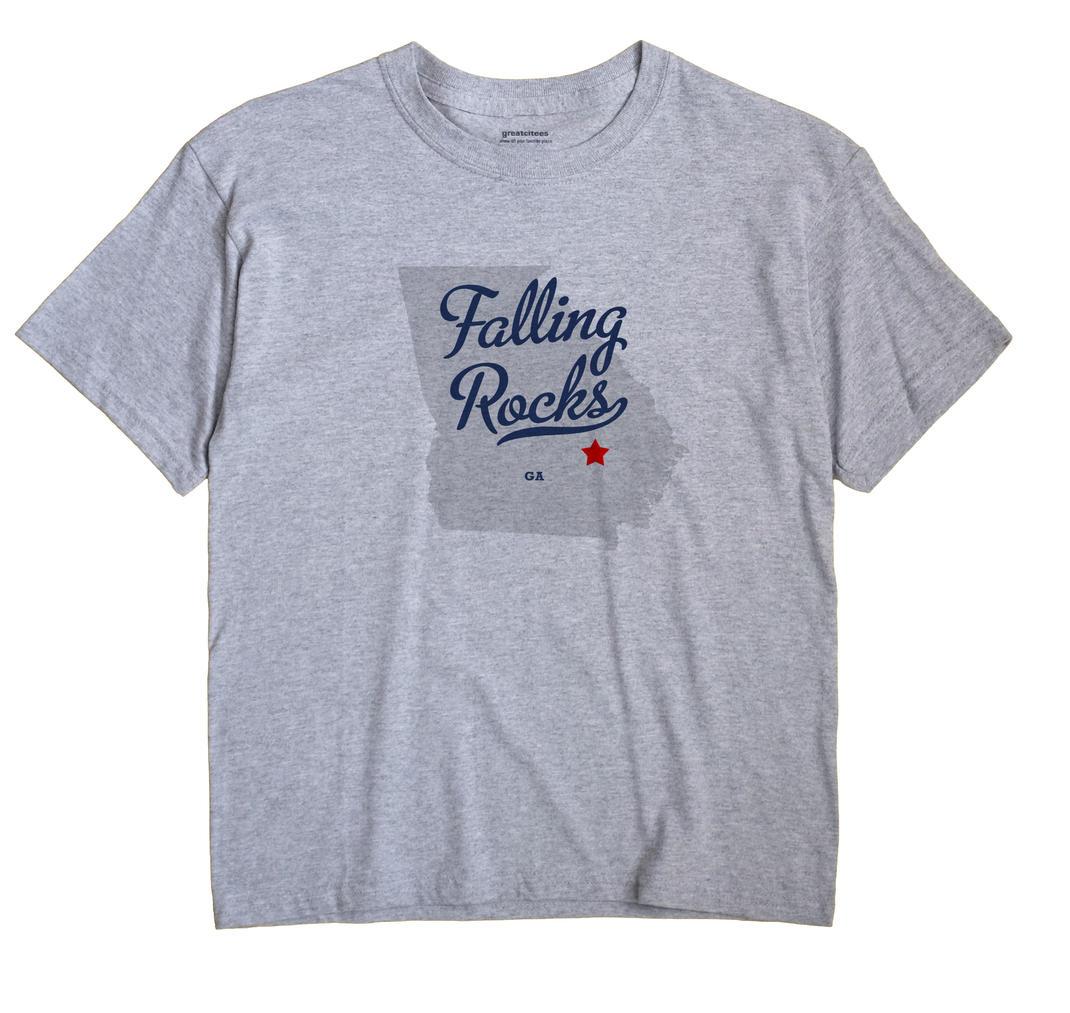 Falling Rocks, Georgia GA Souvenir Shirt