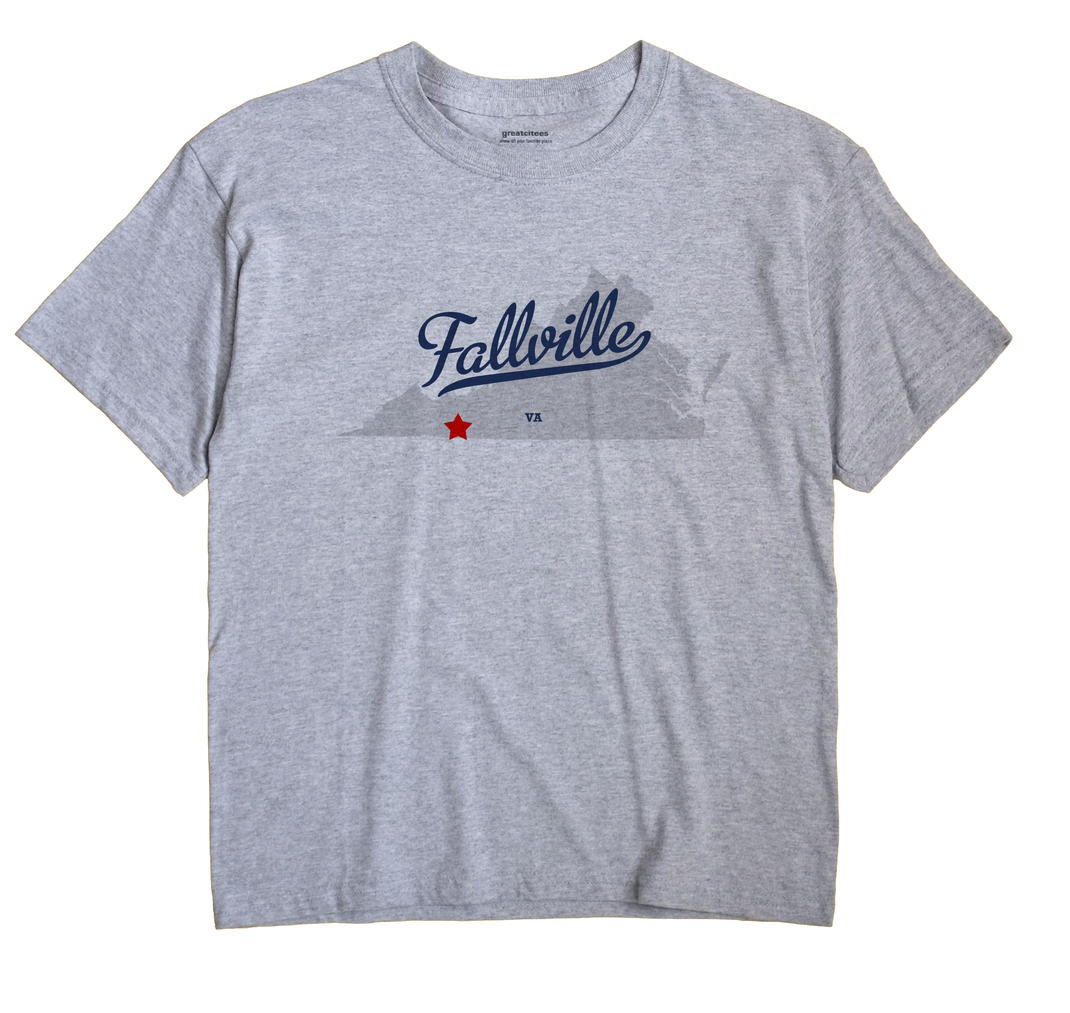 Fallville, Virginia VA Souvenir Shirt