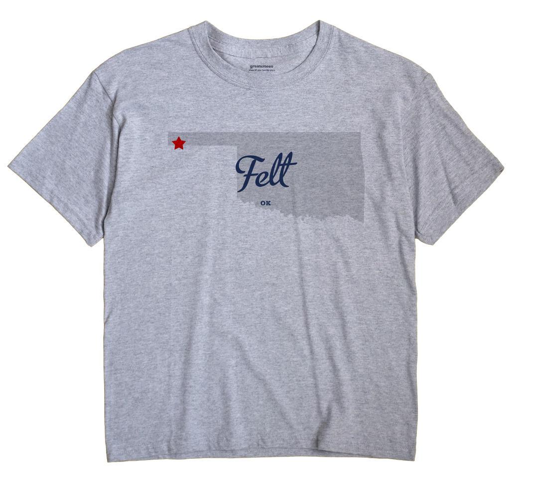 Felt, Oklahoma OK Souvenir Shirt