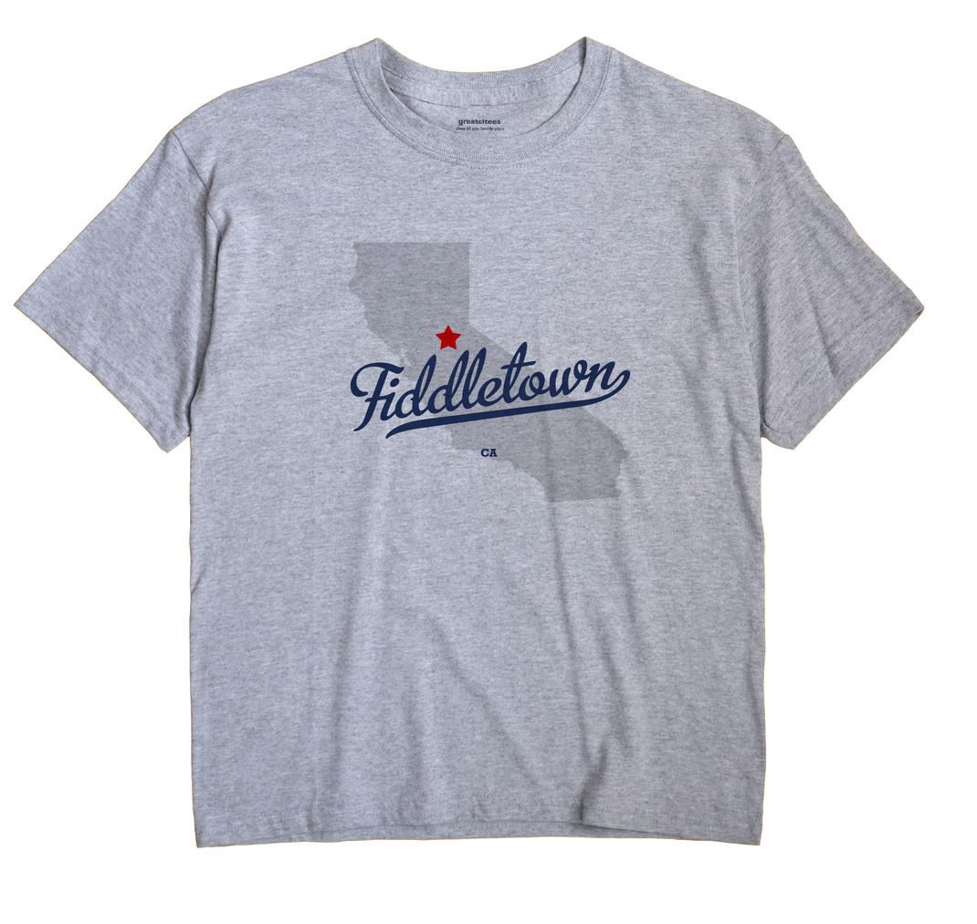 Fiddletown, California CA Souvenir Shirt