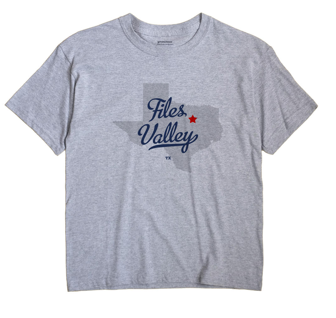 Files Valley, Texas TX Souvenir Shirt