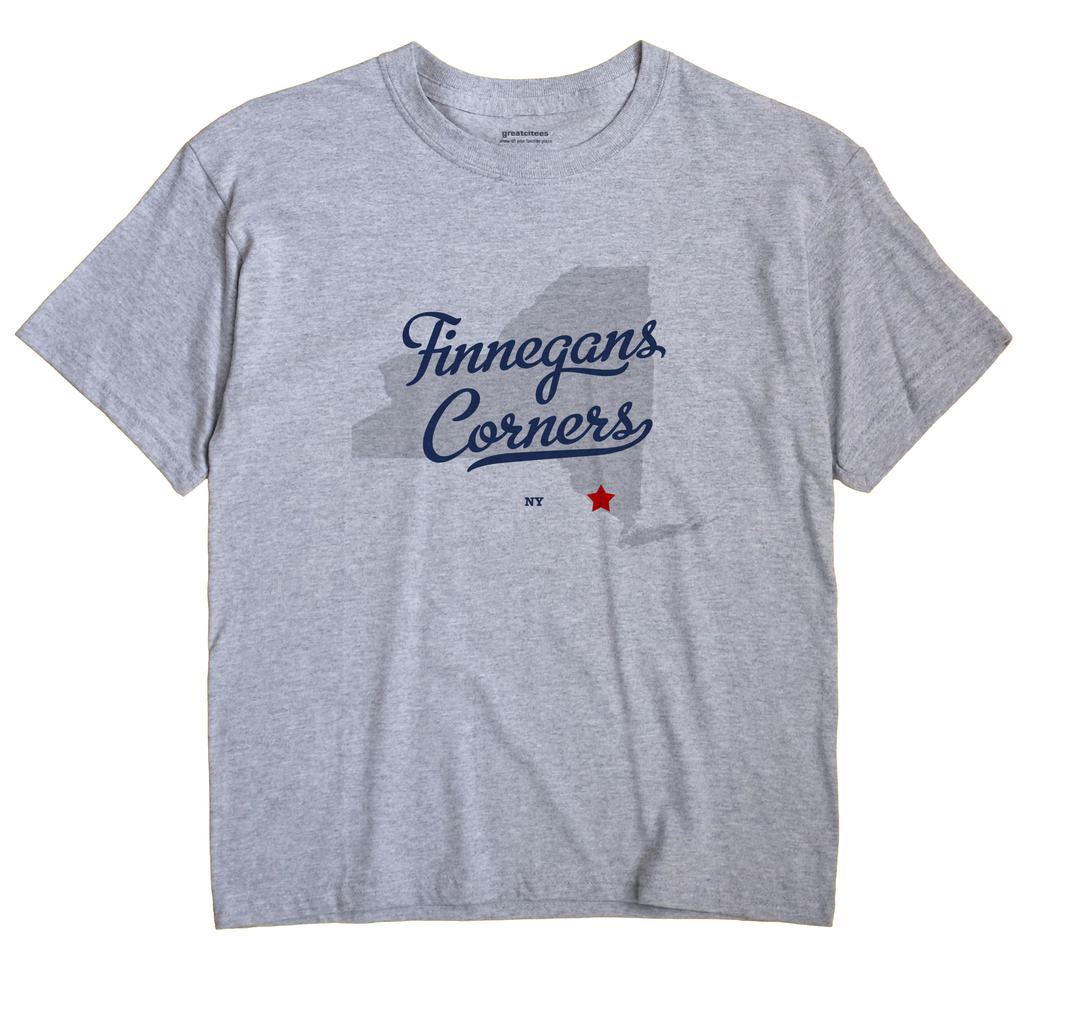 Finnegans Corners, New York NY Souvenir Shirt