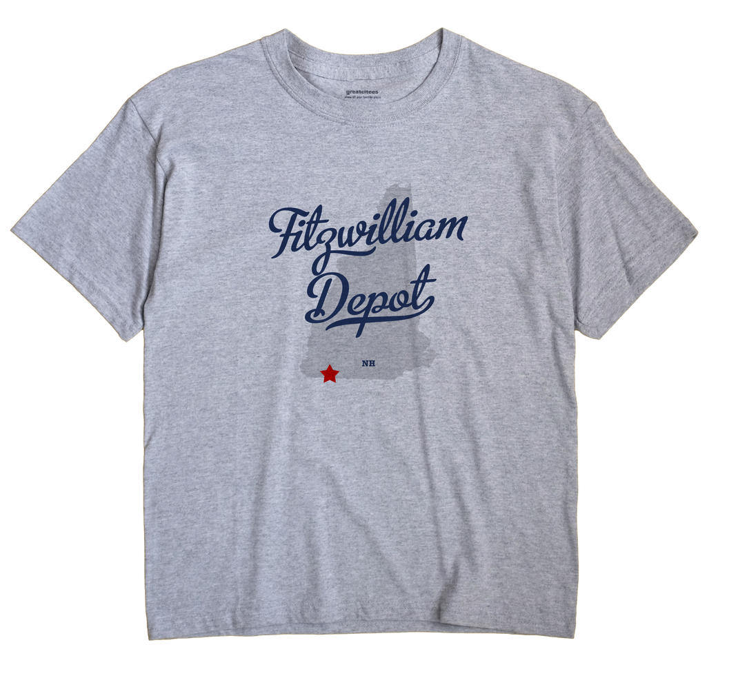 Fitzwilliam Depot, New Hampshire NH Souvenir Shirt