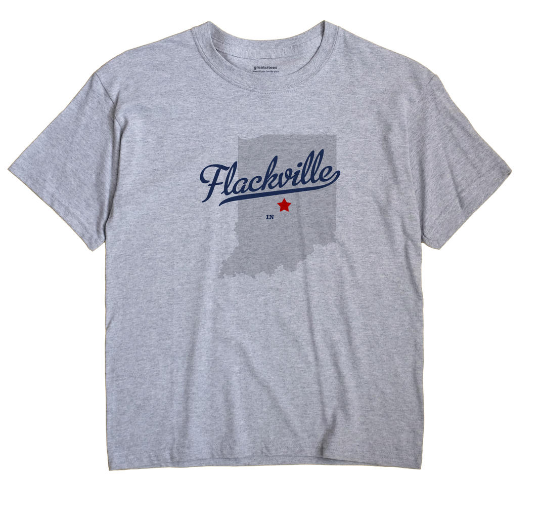 Flackville, Indiana IN Souvenir Shirt