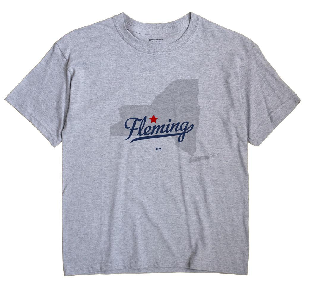Fleming, New York NY Souvenir Shirt