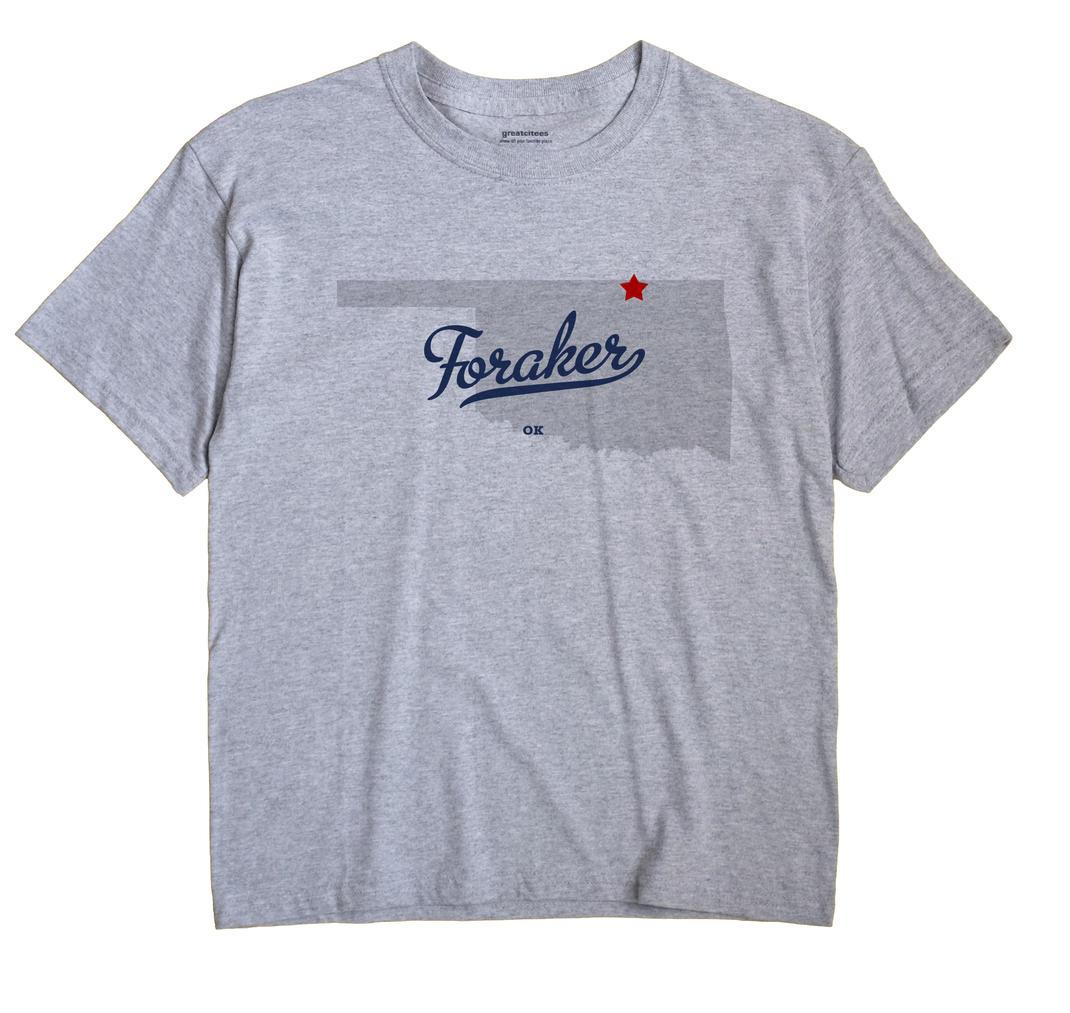 Foraker, Oklahoma OK Souvenir Shirt
