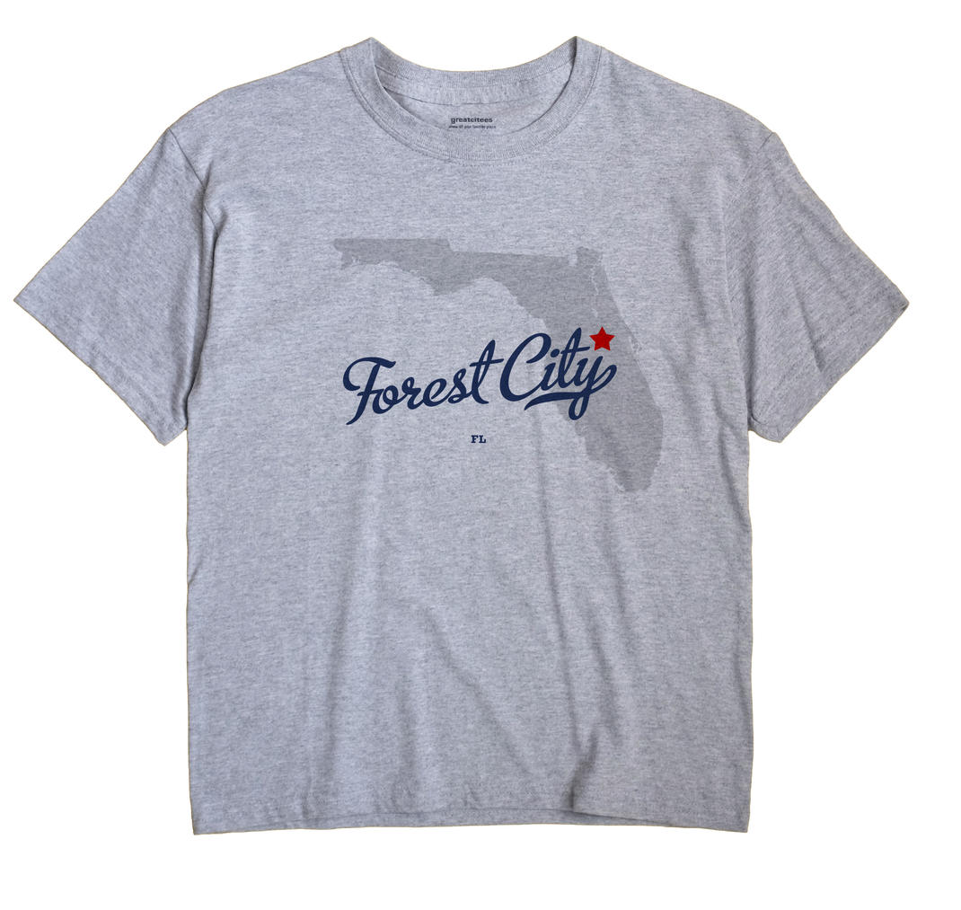 Forest City, Florida FL Souvenir Shirt