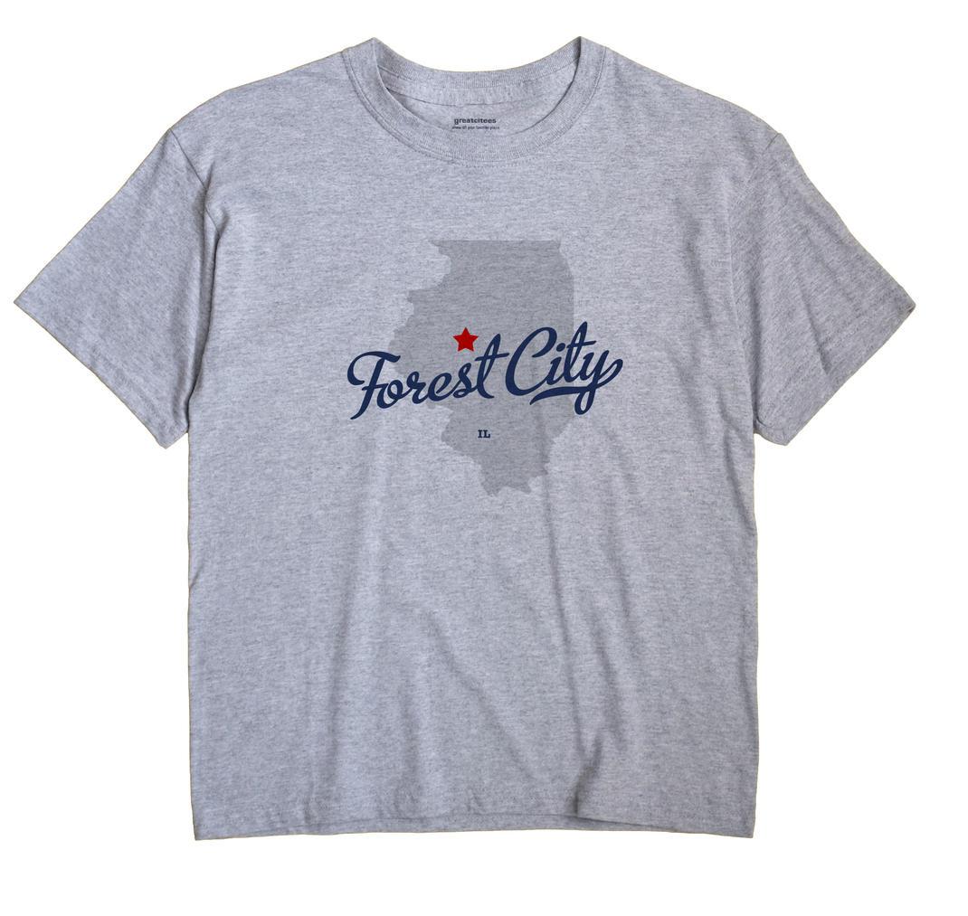 Forest City, Illinois IL Souvenir Shirt