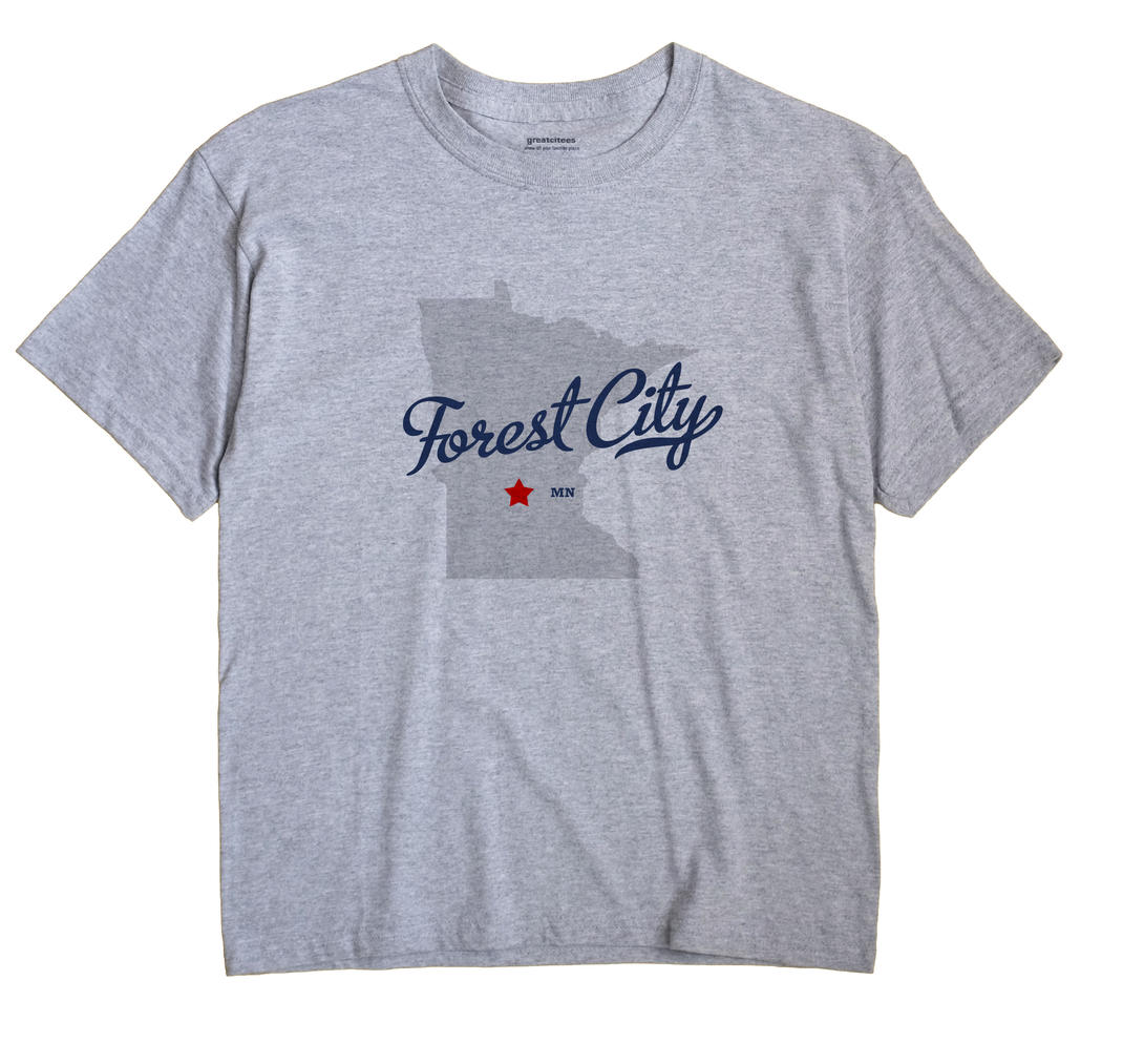 Forest City, Minnesota MN Souvenir Shirt