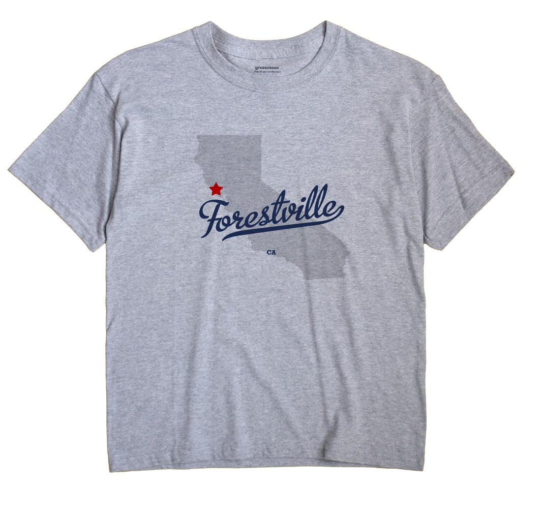 Forestville, California CA Souvenir Shirt