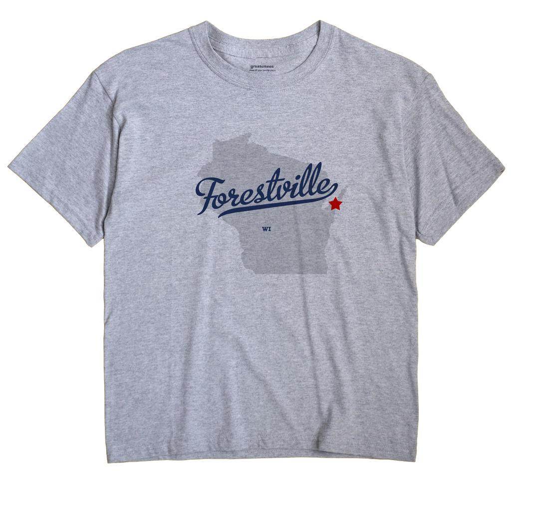 Forestville, Wisconsin WI Souvenir Shirt