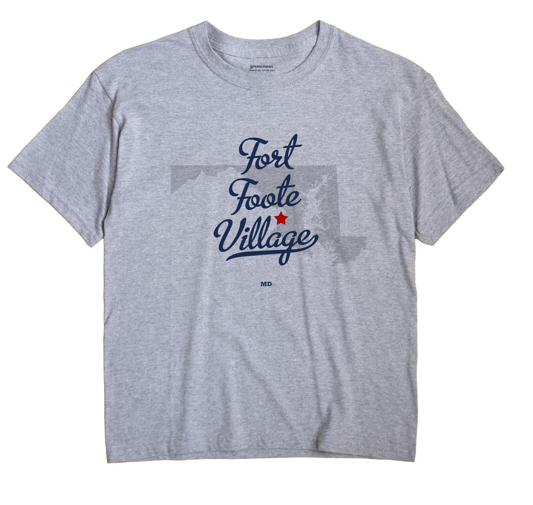 Fort Foote Village, Maryland MD Souvenir Shirt