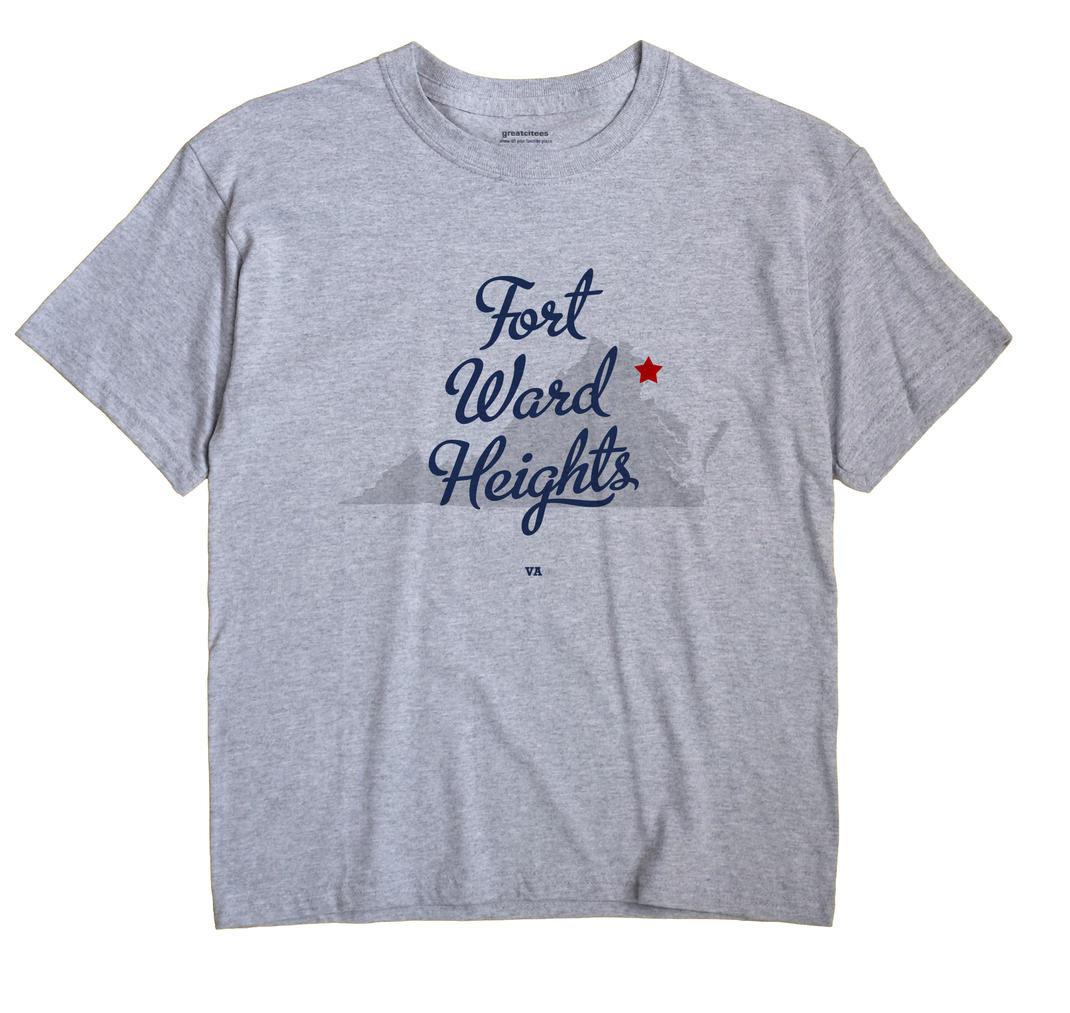 Fort Ward Heights, Virginia VA Souvenir Shirt