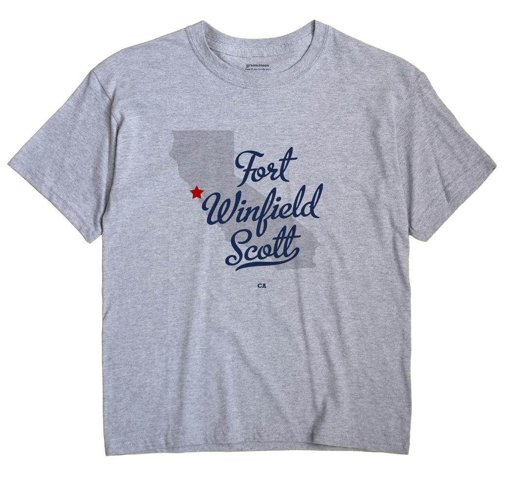 Fort Winfield Scott, California CA Souvenir Shirt