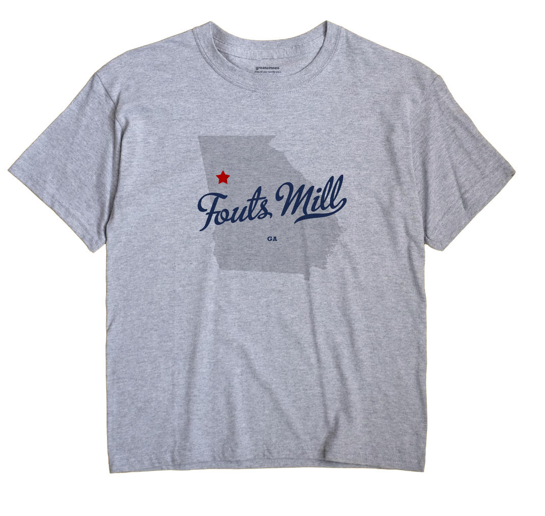 Fouts Mill, Georgia GA Souvenir Shirt