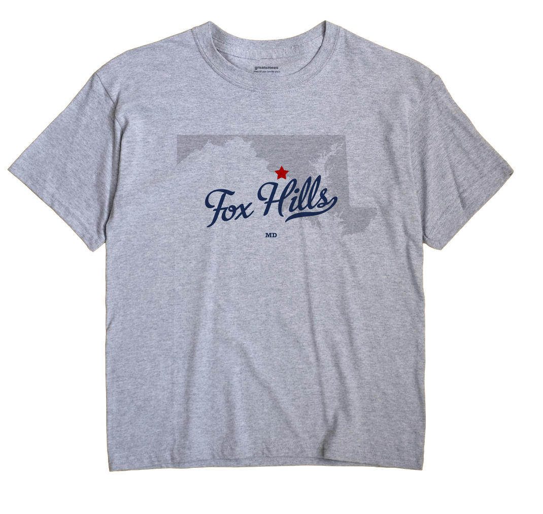 Fox Hills, Maryland MD Souvenir Shirt