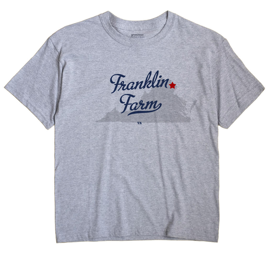 Franklin Farm, Virginia VA Souvenir Shirt
