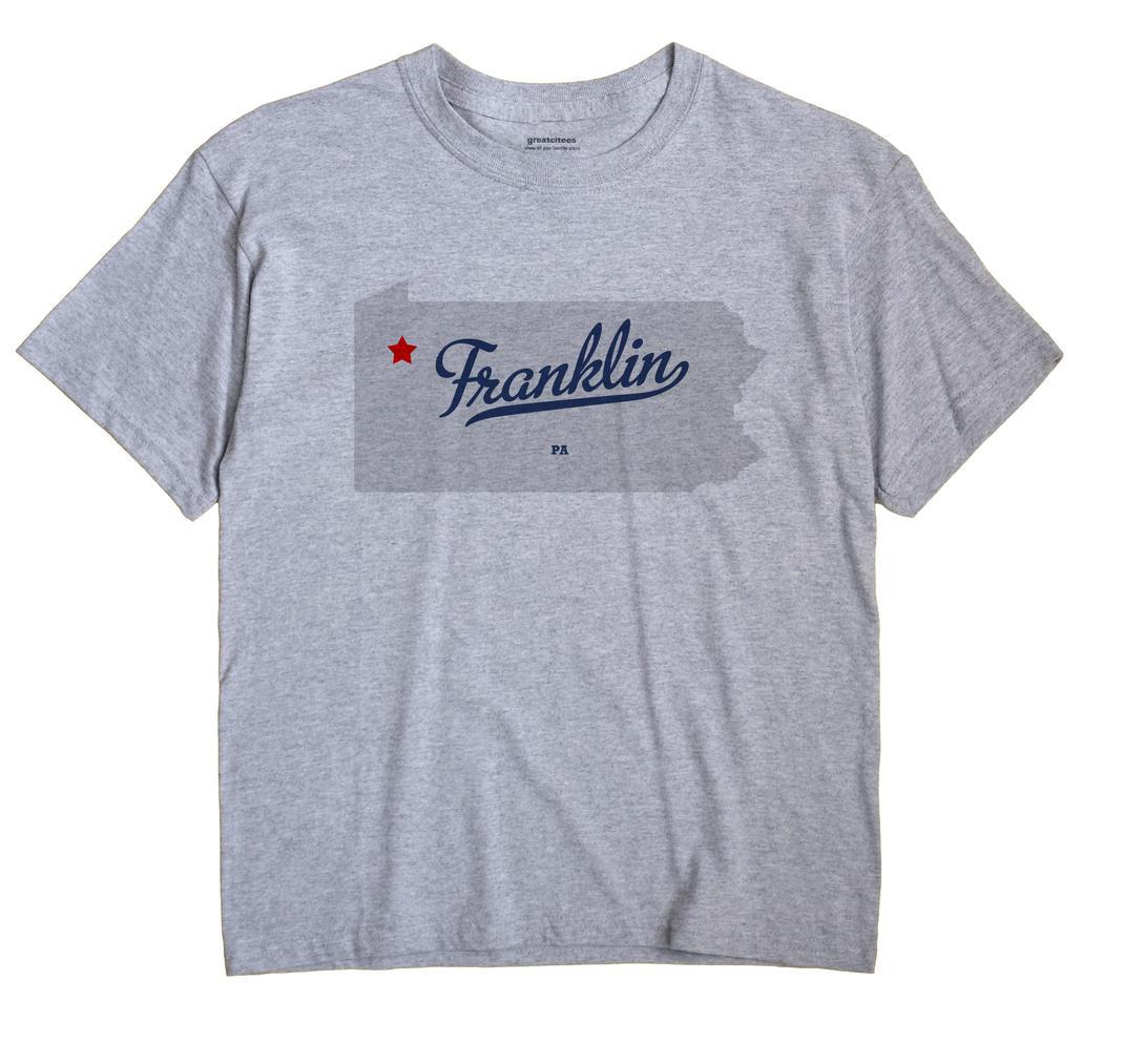 Franklin, Venango County, Pennsylvania PA Souvenir Shirt