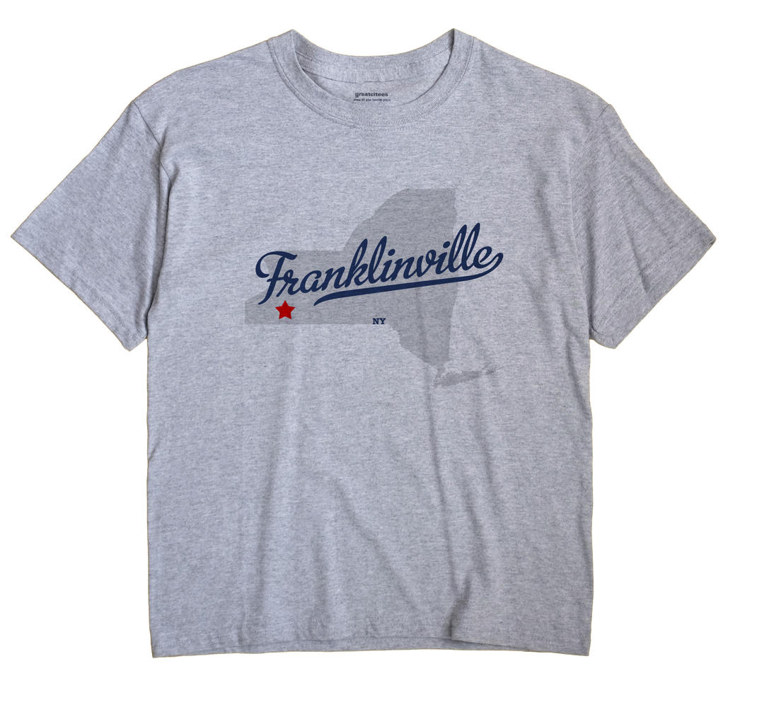 Franklinville, New York NY Souvenir Shirt