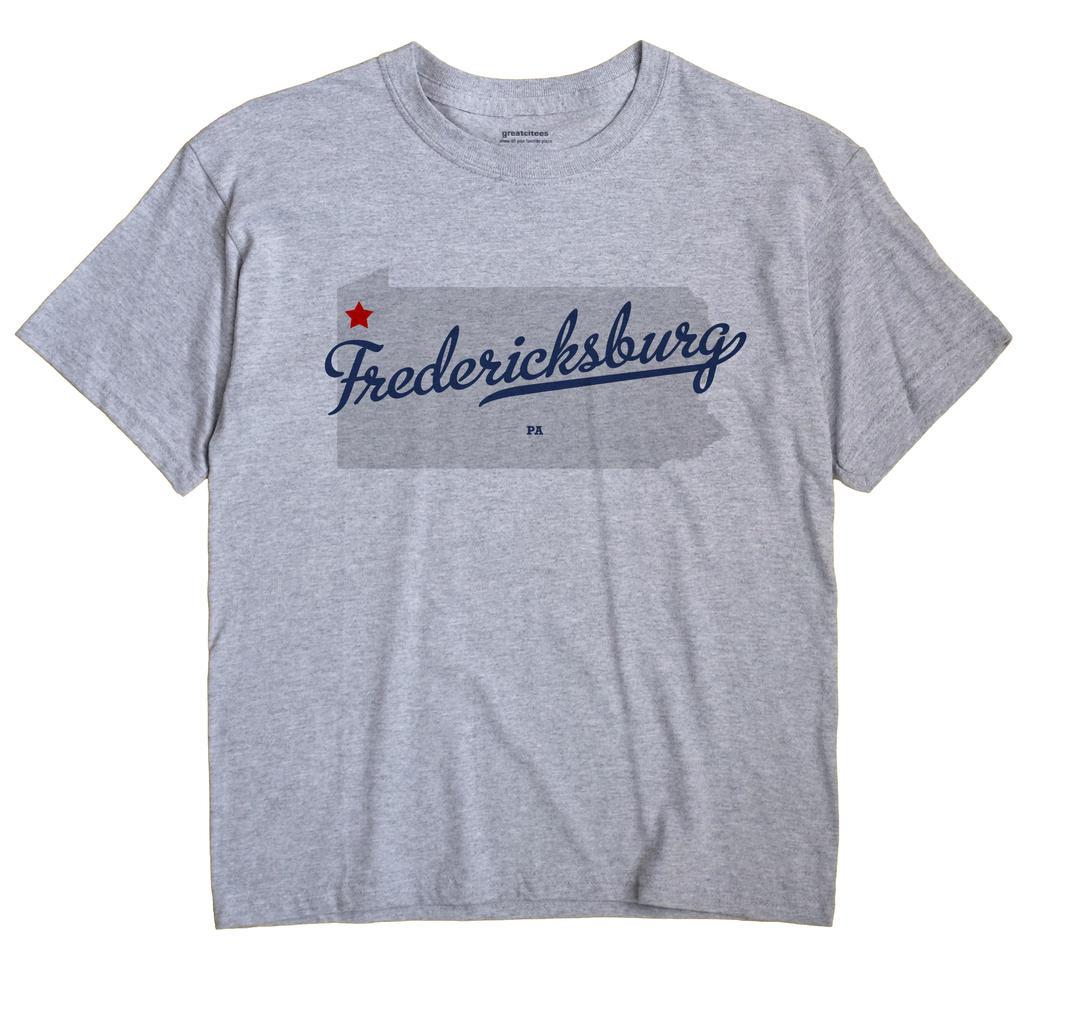 Fredericksburg, Crawford County, Pennsylvania PA Souvenir Shirt