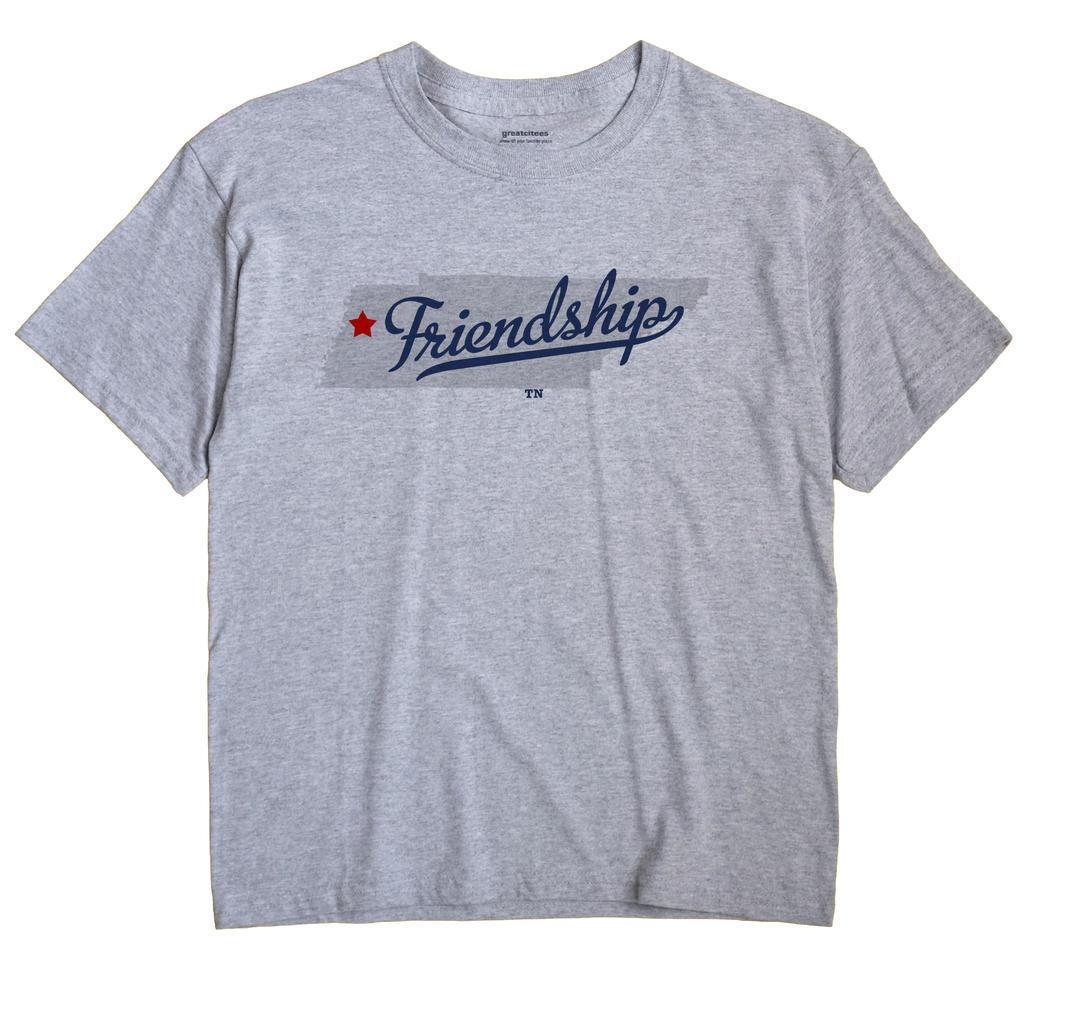 Friendship, Crockett County, Tennessee TN Souvenir Shirt