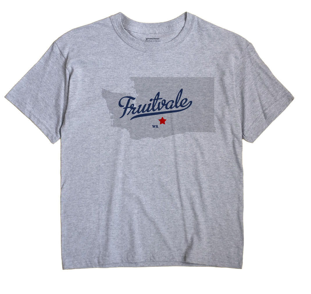 Fruitvale, Washington WA Souvenir Shirt