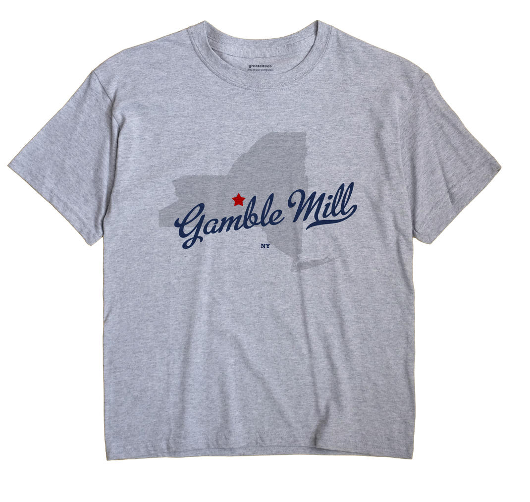 Gamble Mill, New York NY Souvenir Shirt