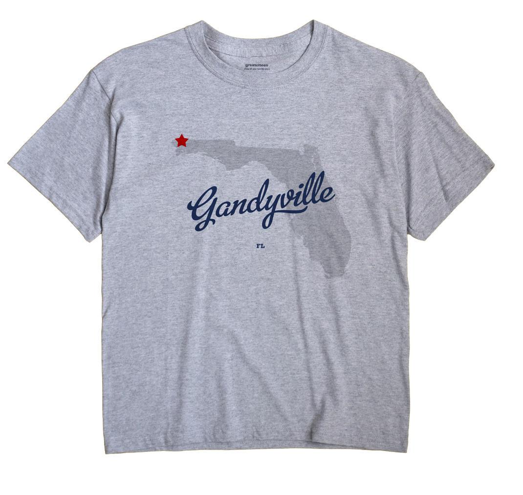 Gandyville, Florida FL Souvenir Shirt