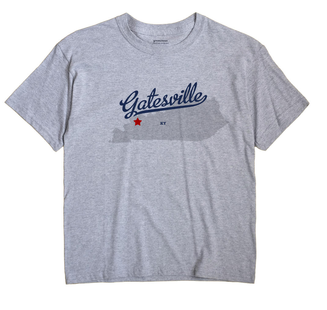 Gatesville, Kentucky KY Souvenir Shirt