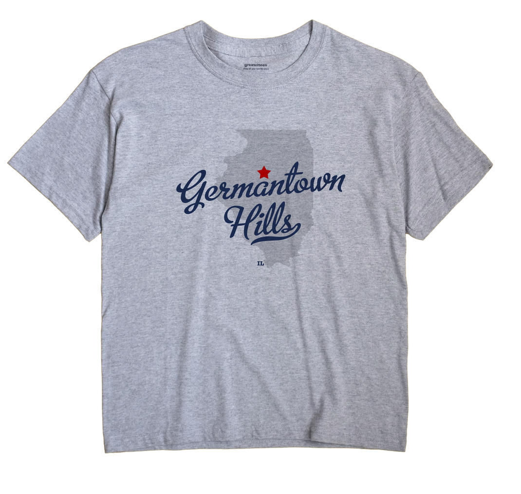 Germantown Hills, Illinois IL Souvenir Shirt