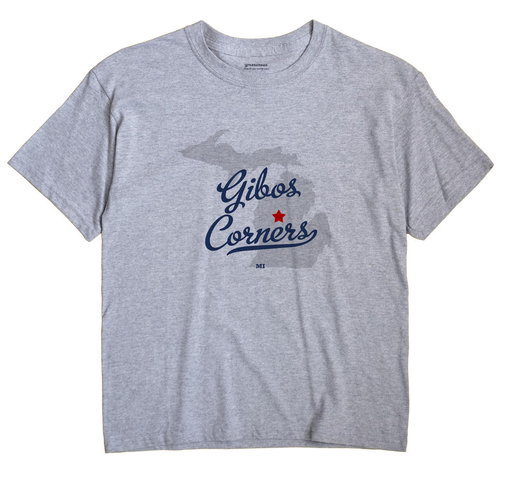 Gibos Corners, Michigan MI Souvenir Shirt