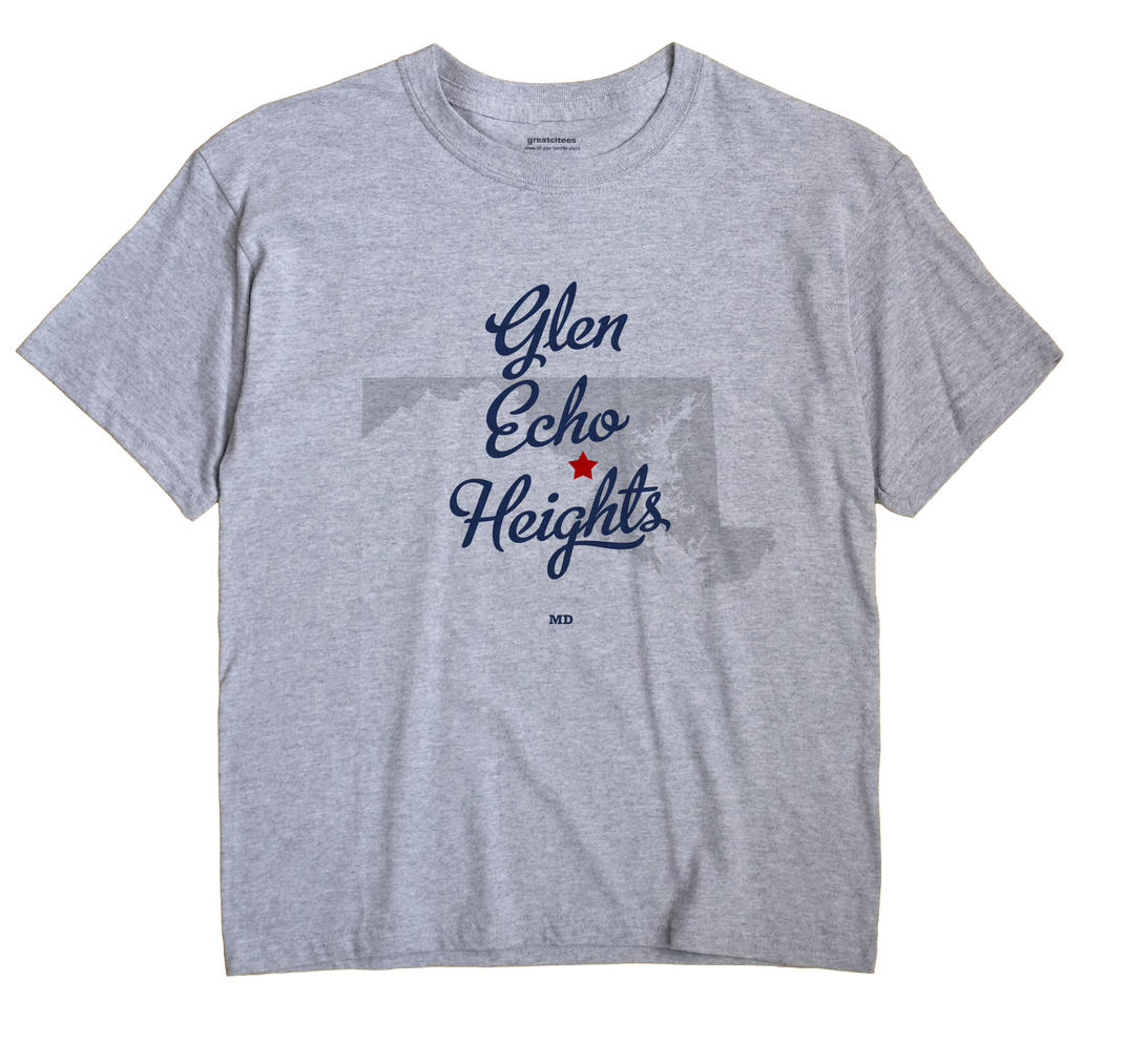 Glen Echo Heights, Maryland MD Souvenir Shirt