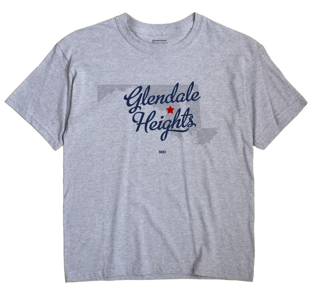 Glendale Heights, Maryland MD Souvenir Shirt