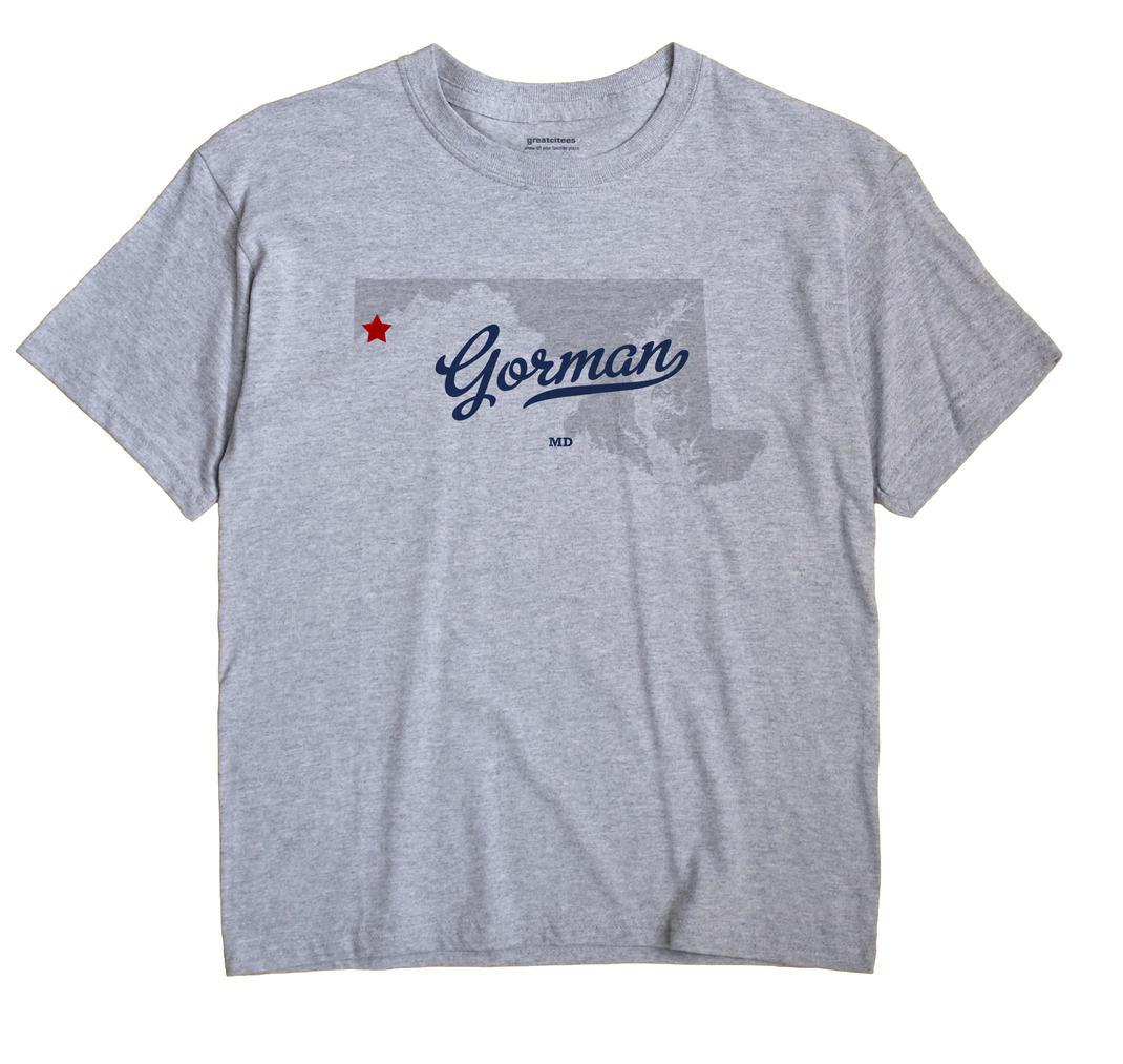 Gorman, Maryland MD Souvenir Shirt
