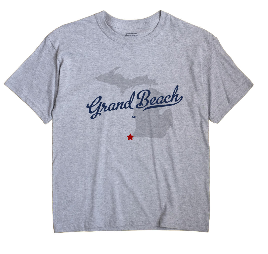 Grand Beach, Michigan MI Souvenir Shirt