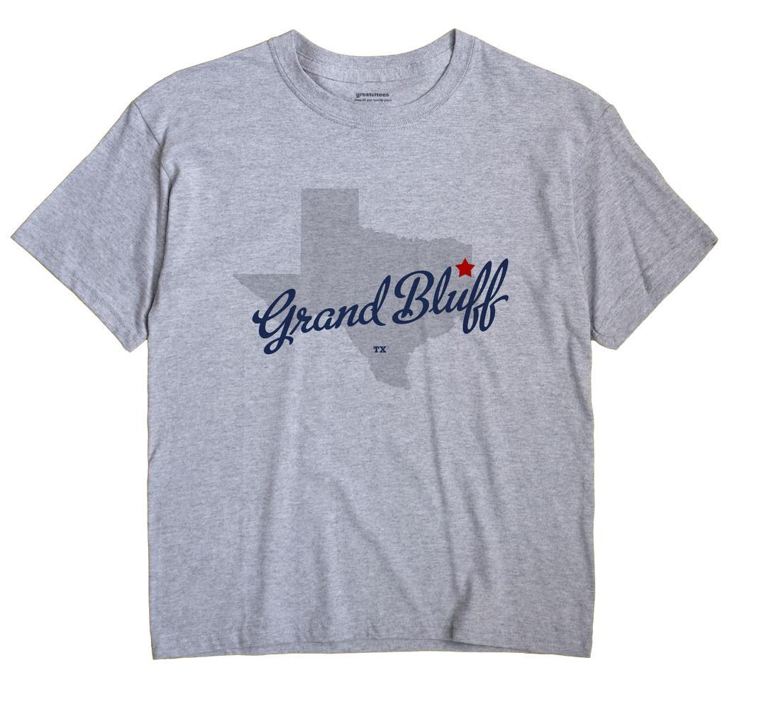 Grand Bluff, Texas TX Souvenir Shirt