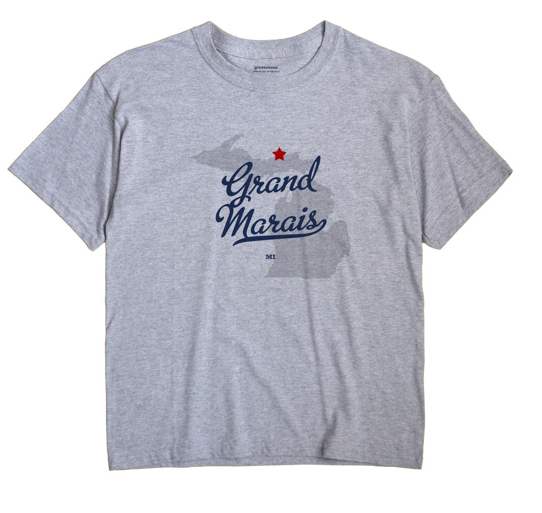 Grand Marais, Michigan MI Souvenir Shirt