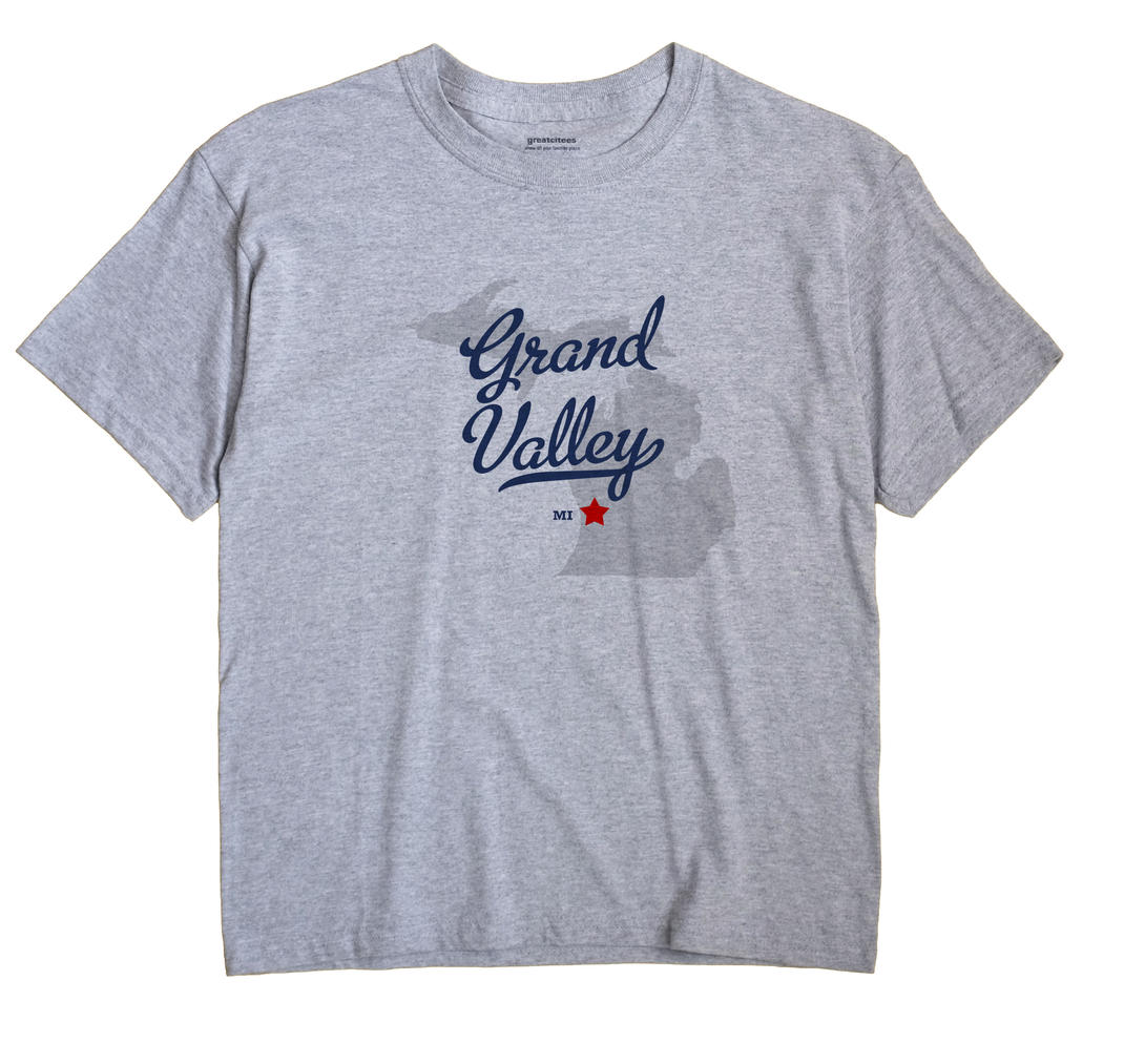 Grand Valley, Michigan MI Souvenir Shirt