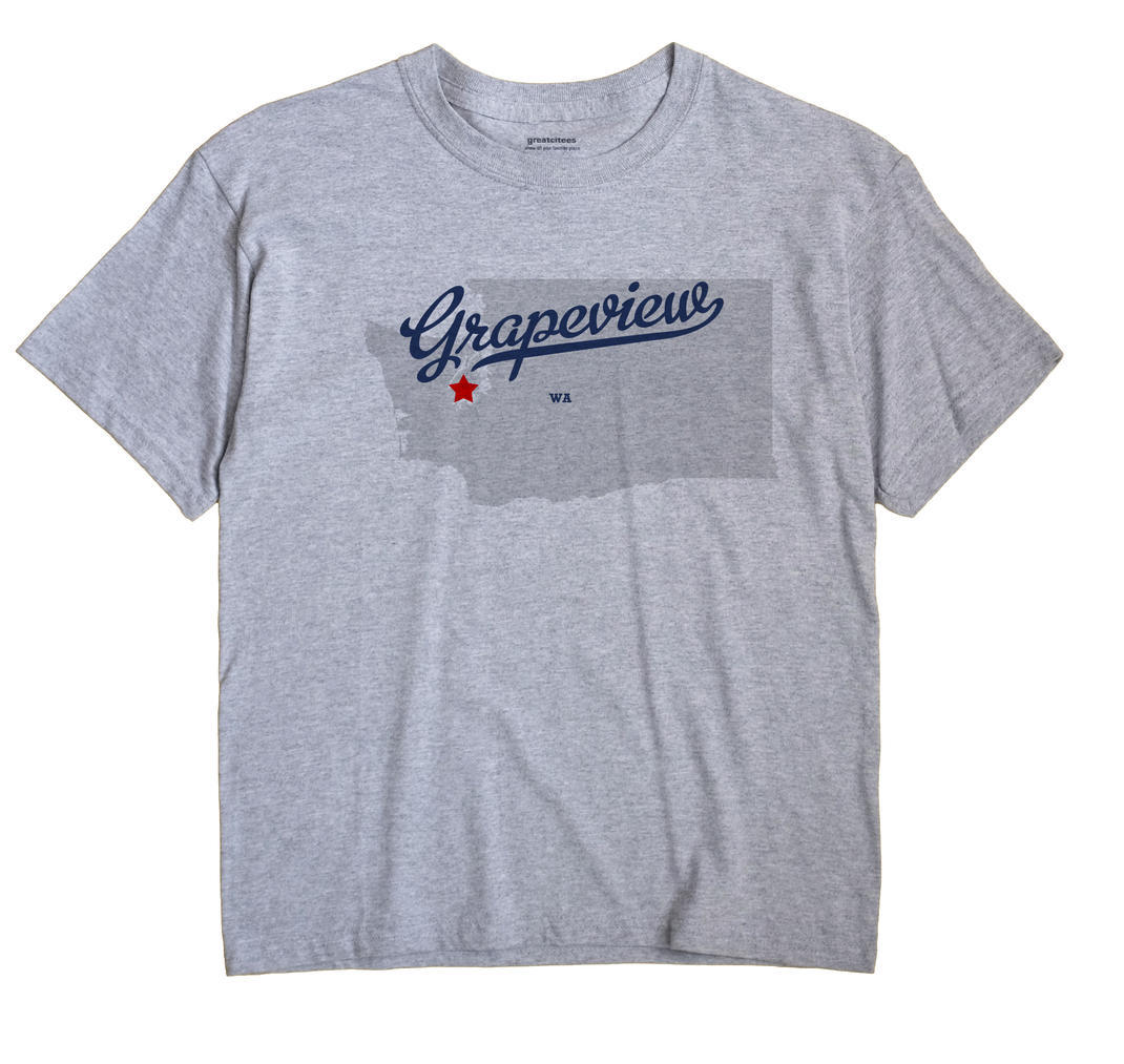 Grapeview, Washington WA Souvenir Shirt